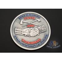 China USA Taekwondo Custom Challenge Coins Soft Enamel Both Side Design 38.1MM wholesale