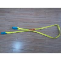 Quality 1 Inch Duplex Webbing Sling , Polyester Webbing Lifting Slings With Orange Label for sale