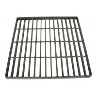 China 19 W 4 Welded Steel Bar Grating Electroforged Grating Corrosion Resistant on sale
