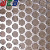 China round hole perforated stainless steel sheet wholesale