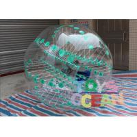 China Green Dot Inflatable Sumo Soccer Balls / Bubble Football / Water Zorb Ball With Color wholesale