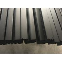 China Black Anodized Powder Coating aluminum frame extrusions for Roof Rack wholesale