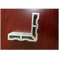 China Heat Insulation Industrial Aluminum Profile Smooth / Shining Silver White Color wholesale