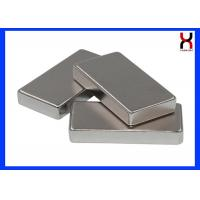 China Customized Size Block Rectangle square Shape Neodymium Magnet with high attraction wholesale
