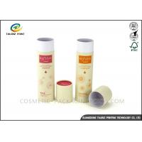 China Full Color Packaging Paper Tube Recyclable Paperboard For Clothes Packing wholesale
