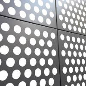 China PVDF Coating Perforated Aluminum Panels For Building Decroration wholesale