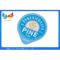 China Embossing K - Cup Aluminum Foil Lids 35mm Colored Die - Cut Shape Heat Sealing on sale