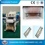 China High Efficiency Wood Sawdust Machine , 90kw Sawdust Log Machine wholesale