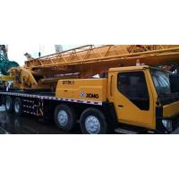 China XCMG Brand Used Truck Crane Mobile 55 Ton Yellow Stretchable Arm Strong Engine Crane on sale
