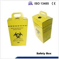 China 5L Safety box, Disposable Medical Cardboard Safety Box, Safety Box For Syringe,Needles and sharps, 5 Liters wholesale