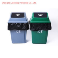 China PLA Biodegradable Thicken Household Medium Plastic Trash Can Liners on sale