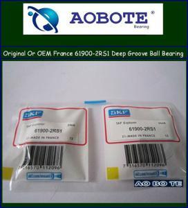 China Sweden SKF 61900-2RS1 Deep Groove Ball Bearing Single Row wholesale