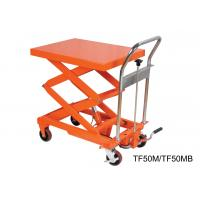 China Compact Structure Mobile Hydraulic Lifting Table With Electrical Controlling System wholesale