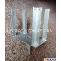 China Metal Concrete Forming Accessories , Four Way Forkhead Holding H20 Beams wholesale