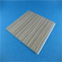 China Laminating Plastic UPVC Basement Wall Panels 250mm x 5mm x 2950mm on sale