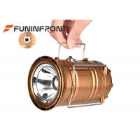 China 13W Portable Camping LED Lanterns USB Rechargeable Emergency Solar Lights wholesale