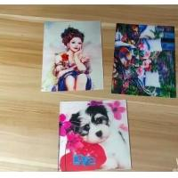 China OEM 3D printing factory provide  india 3d lenticular card for sale with strong 3d depth lenticular effect wholesale