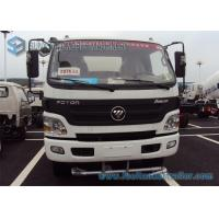 China Foton Aumark Stainless steel Water Tank  2 Axles 4 * 2 Drive 6000 L - 7000 L 115 hp wholesale