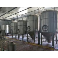 Large Scale Industrial Beer Brewing Equipment 3000l 5000l Adjustable Voltage for sale
