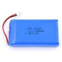 China UN38.3 2800mAh 3.7V Lithium Ion Rechargeable Battery wholesale