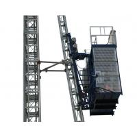China Curve Building Construction Hoist Elevator 0 - 33 m/min Lifting Speed 1.6T Loaing Capacity wholesale
