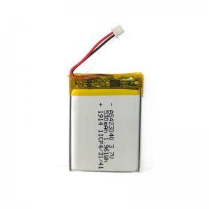 China PL423040 Small Lipo 3.7 V Lithium Polymer Battery Pack 530mAh wholesale