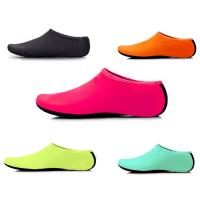China Womens Mens Classic Barefoot Water Shoes Flat Heel With Spandex Fabric Material wholesale