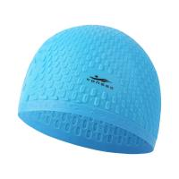 China Copozz Silicone Waterproof Men Women Swimming Swimming Cap for Long Hair Hat Cover Ear Bone Pool on sale