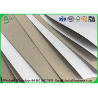 China Packaging Box Coated Duplex Board Grey Back 350gsm 300gsm In Sheet / Roll wholesale