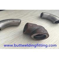 China Forged Elbow stainlss steel Pipe Fitting ASME B16.11 ASTM A182 F316L 90DEG SW/TH 9000LB on sale