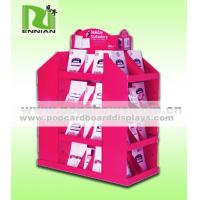 China Creative Cardboard Book Display Stands Magazines Corrugated Counter Display wholesale