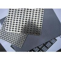Buy cheap Roll Bending Perforated Wire Mesh Iron / Stainless Steel / Copper / Aluminum / Galvanized Zinc from wholesalers