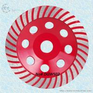 China Turbo Rim Diamond Cup Grinding Wheel for Granite and Concrete - DGWS02 wholesale