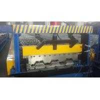 Quality Galvanized Steel Floor Deck Roll Forming Machine for sale