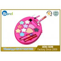 China Fashionable Round Beautiful Childrens Makeup Kit Skin - Friendly With Private Label wholesale
