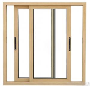 China 1.4 MM Thickness Horizontal Slider Window / Small Aluminum Sliding Window Sash wholesale