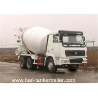 China Mechanical Type Suspension Concrete Mixer Trailer , 25 tons dry bulk trailer on sale