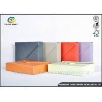 China Multiple Colors Jewellery Presentation Boxes , Cardboard Jewelry Boxes Enchanting Design wholesale