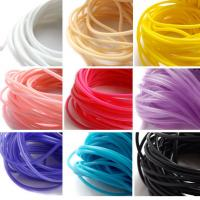 China Heat Resistant Silicone Rubber Cord High Elasticity High Strength With Long Lifespan wholesale