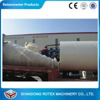 China Wood chips , Sawdust Rotary Drum Dryer GHG 1.5 * 18  0.42-0.85 T/H wholesale