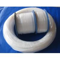 China Natural White Pure Extruded PTFE Teflon Tube For Wire And Cable Jacket wholesale