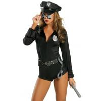 China High Quality Halloween Sexy Police Costumes My Way Patrol Cop Costume for Party Adult wholesale