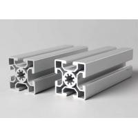 China T-slot aluminum extrusion profiles Steel Polished Suface Treatment / For Conveyor wholesale