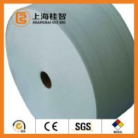 China 60GSM White 100% Bamboo Spunbond Non Woven Fabric Good Water Penentration wholesale
