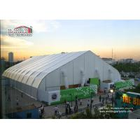 China 40m Width Portable Aluminum Waterproof  Exhibition TFS Polygon Tent Structures With Air Conditioner wholesale