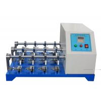 Buy cheap BS - 3144 Standard Leather Testing Equipment For Flexing Resistance Test with 12 from wholesalers