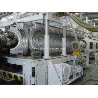 China HDPE Double Wall Corrugated Pipe Extrusion Machine / Polypropylene DWC Extruder / PVC Extruder Machine on sale