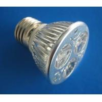 China High Power Outdoor Cool white 3W E27 / E26 Aluminum Epistar LED Spot Lamps Bulb 30 degrees wholesale
