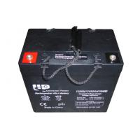 China Sealed Maintenance Free Deep Cycle Lead Acid Battery 12 Volt 55Ah on sale