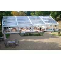 China 500 People Big Waterproof Transparent Polygon Event Tent With Clear Span Structure wholesale